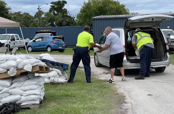 The city of Daytona Beach has been providing sandbags for residents wanting to get ready for Tropical Storm Elsa.