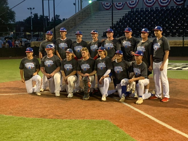 The Hays Eagles pose for a picture after winning the Wild West Fest Tournament for the fourth consecutive year.