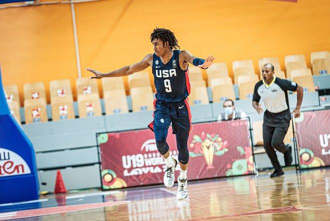 Purdue sophomore Jaden Ivey at FIBA U19 World Cup