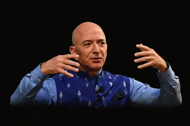 Amazon CEO Jeff Bezos is retiring. This is how rich Amazon made him