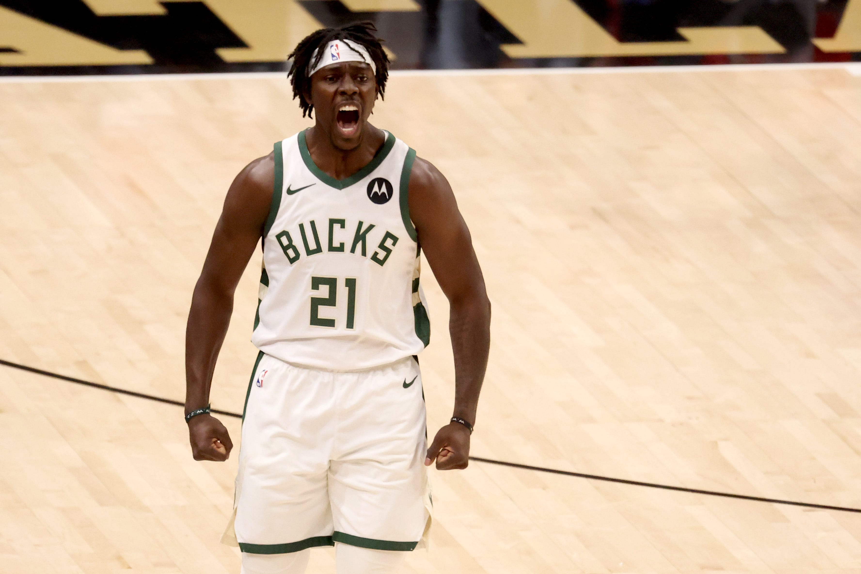 Milwaukee Bucks close out Atlanta Hawks to advance to NBA Finals for first time since 1974