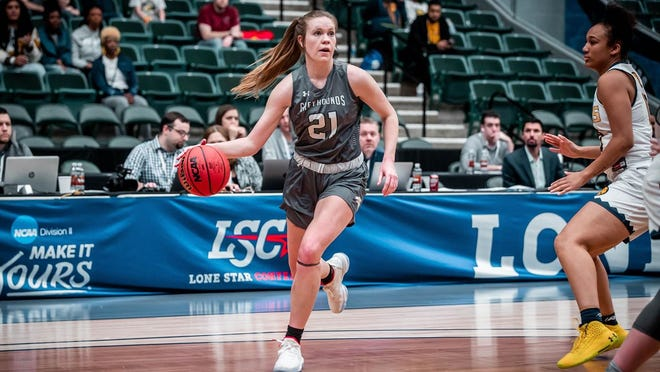 Alivia Lewis, a rising senior, spent three years with Eastern New Mexico and became the program's all-timeleadingdefensive rebounder with 460, and is second inoffensive rebounds with 203, second in blocked shots with 116,and third in total rebounds with 663.