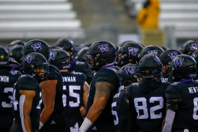 The Washington Huskies won the Pac-12's North Division last season. But 2020 ended in sour fashion. They couldn't field a team with enough scholarship players and had to cancel their final three games, including the regular-season finale, the Pac-12 title game and a bowl game.