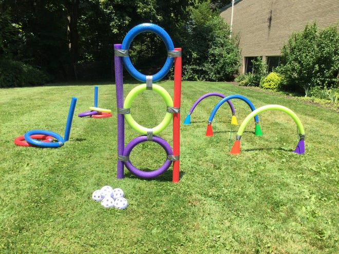 Rodman Public Library plans a pool noodle event for children on July 31 at the main library.