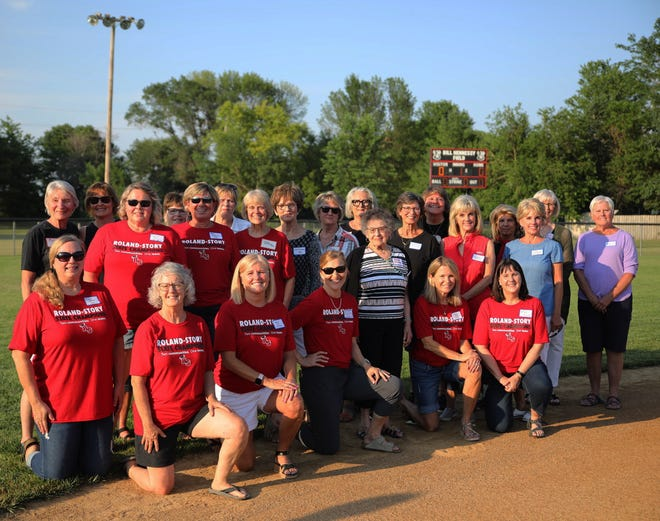 Roland-Story honored its 1970 and 1971 summer and 1971 and 1981 fall state softball championship teams as part of the 50th anniversary celebration of Roland-Story High School prior to the Norse softball team's 6-4 victory over a Collins-Maxwell team ranked third in Class 1A July 1 at the Hennessy Diamonds in Roland. The softball state champions were scheduled to be honored last year, but it was postponed because of the COVID-19 pandemic.