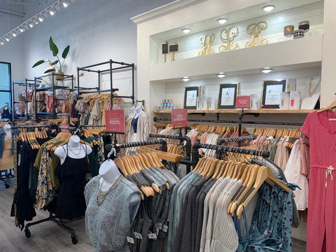Apricot Lane Boutique opened its Evans location at Mullins Colony shopping plaza off Washington Road on June 24, 2021.