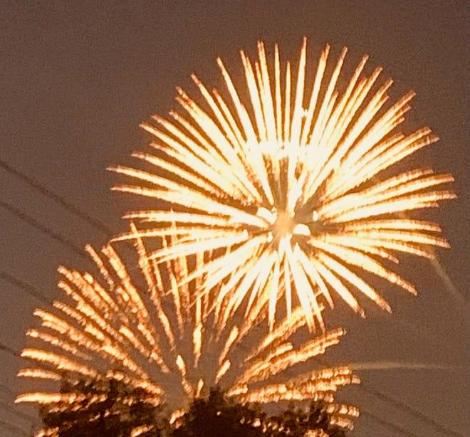 Canton had a fantastic display of fireworks Sunday.