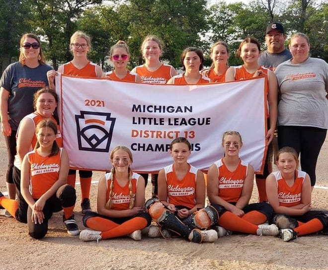 The Cheboygan Major Girls (11-12) softball team recently captured a District 13 title after finishing with a 3-0 record during its tournament in Indian River.