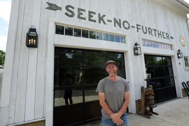Trent Beers and partners are putting the finishing touches on Seek No Further Cidery. The cidery will start out with two of its own ciders, one dry and the other semi-dry, and also will have three or four guest ciders on tap.