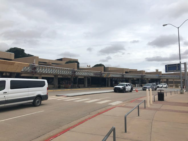 The Lubbock Preston Smith International Airport, which is still undergoing renovations.