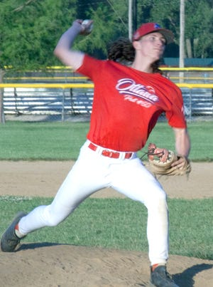 Ottawa pitcher Brett Hadl and his teammates play their final home game of the season 6:30 p.m. Tuesday in a single nine-inning game against Leavenworth. The Arrows (11-15) went 1-4 this past weekend in the Hays tournament.