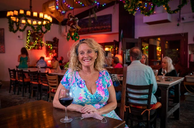 Lisa Mercado at her restaurant, Ravish, in Lantana, in March. Many local restaurants have begun to bounce back after the COVID pandemic.