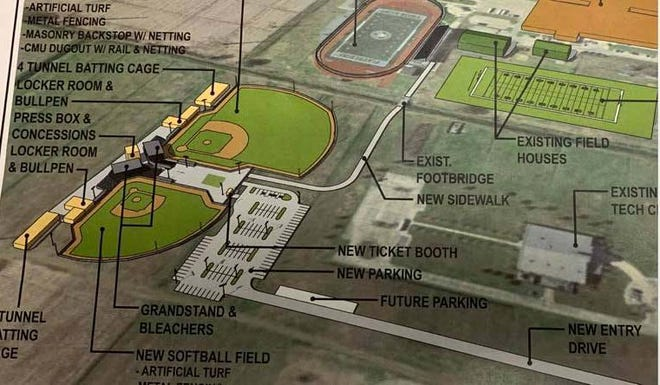 Work will soon begin on a new $5 million baseball/softball complex for Plaquemine High School.