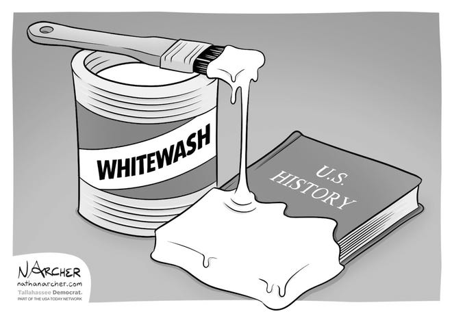 The whitewashing of U.S. history continues.