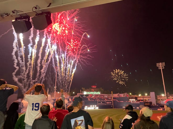 The Worcester Red Sox are lighting up Polar Park in more ways than one.