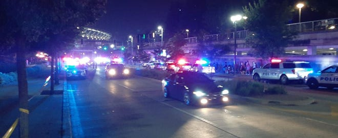 The Cincinnati Police department is investigating a shooting that happened at Downtown on 4th of July.