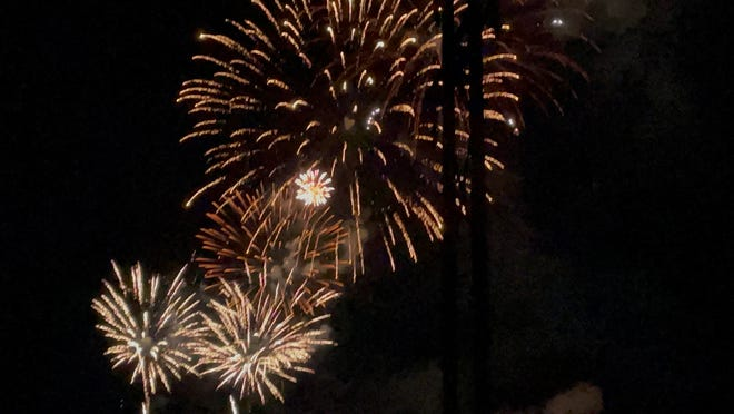 The Sunset Spectacular event will be held on July 10 and fireworks will begin at 9:30. Food vendors will be set up at Constitution Park.