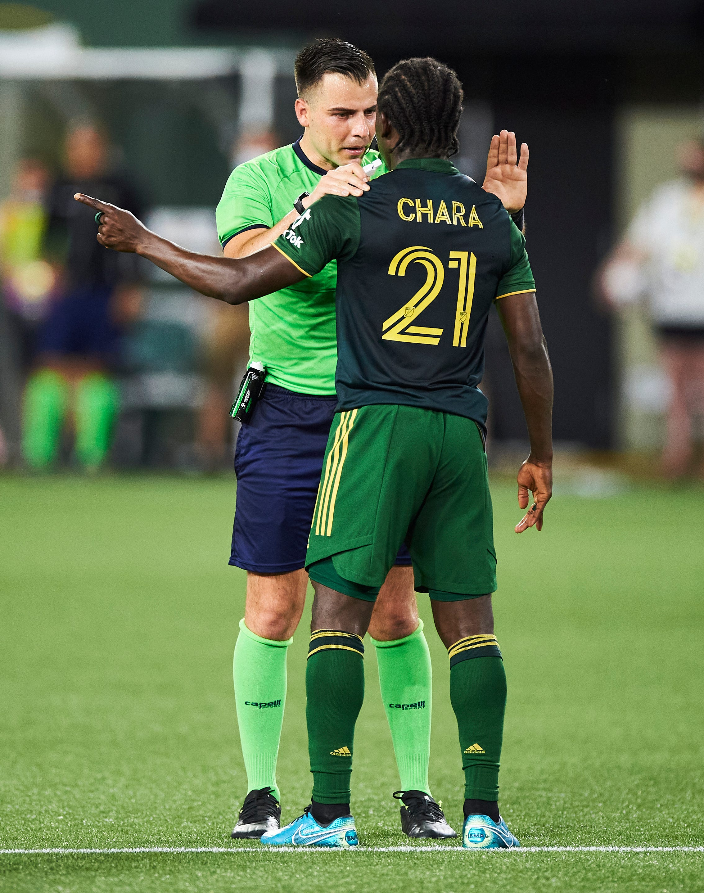 MLS: League investigation into allegation of racist taunt against Portland Timbers player inconclusive