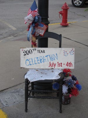In addition to the Fourth of July celebrations taking place over the weekend, Lewistown had something extra to celebrate as the community reached the Bicentennial milestone. Be looking in future  editions of the Ledger for additional photos.