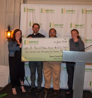 St. Paul's/Urban Acres received an award of $102,500.