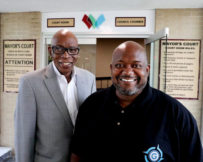Derrick L Owens, left, and Kevin J. Miller, right, are partners in the Derrick L. Owens Group LLP, which runs a diversion program to help first-time and low-level offenders avoid future crimes.