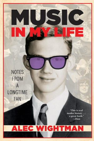 """""""Music in My Life: Notes from a Longtime Fan"""" (Small Batch Books, 350 pages, $28) by AlecWightman"""