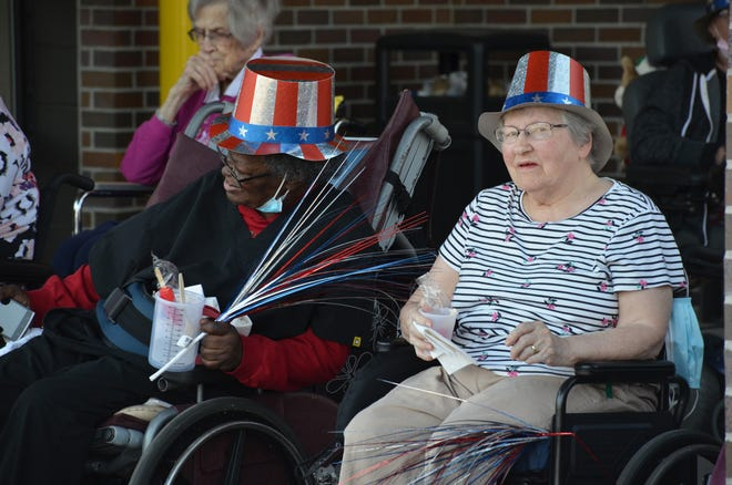 Villa residents got dressed up for Independence Day and enjoyed the Kiddie Parade