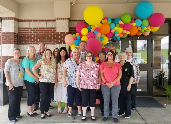 Guernsey County Senior Citizens Center Executive Director Shon Gress and staff welcomed clients back last week as part of a three-phase reopening at the facility on Carlisle Avenue in Cambridge.