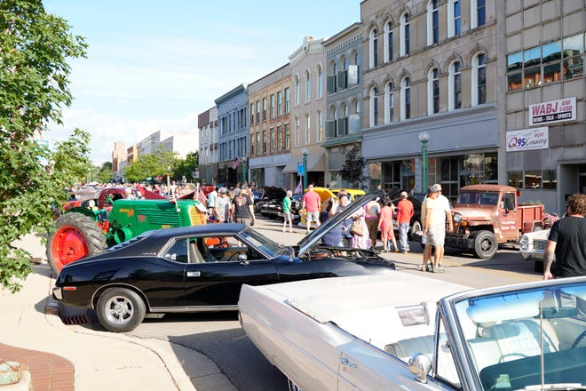 Classic vehicles of all kinds were on display during Friday Fridays this past Friday in downtown Adrian.