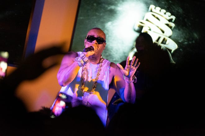 Slick Rick is one of the performers scheduled to play at the First Day Out Music Festival at VyStar Veterans Memorial Arena.