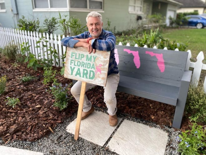 """Emmy-winning director Chad Crawford, host of """"Flip My Florida Yard,"""" is seeking homeowners for season two of the series about transforming yards into beautiful, Florida-friendly landscapes. The deadline to apply is July 15."""