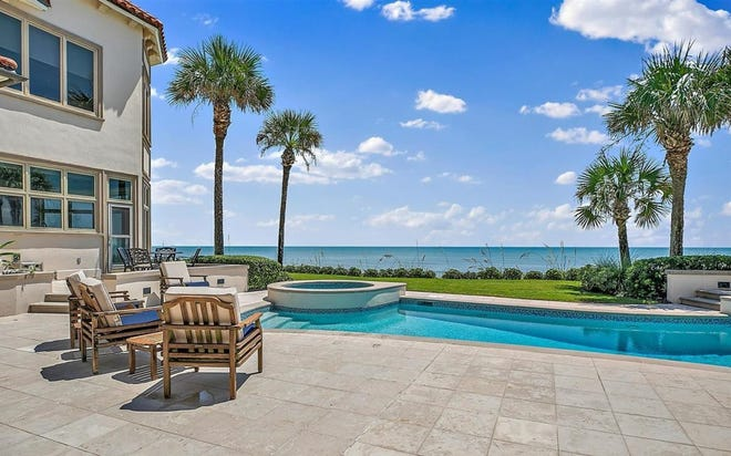 With two pools and a front-row seat right on the Atlantic Ocean, it's no wonder this stunning Mediterranean-style home in Ponte Vedra Beach was chosen as a finalist for HGTV's Ultimate House Hunt 2021. Fans have until Aug. 4 to vote for their favorite and be entered for a chance to win $10,000.