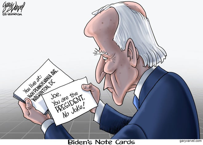 Today's editorial cartoon (July 7, 2021)