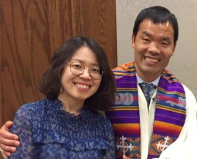 Rev. Eun Sik (Cloud) Poy and his wife, Lisa