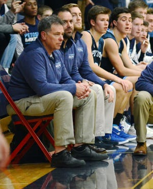 After coaching and assisting at multiple levels within both programs at Petoskey, Matt Tamm will lead the varsity boys basketball team for the first time.