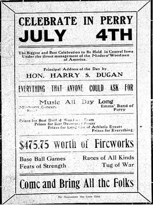Did you know... what the Fourth of July was like in Perry in years past?