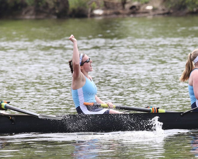 Allie Reilly, seen here rowing for URI, will compete in the Summer Paralympics from Aug. 24-Sept. 5.