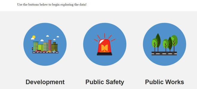Stockton's new public online data portal is up and running. It offers numerous datasets on city development, public safety and public works.