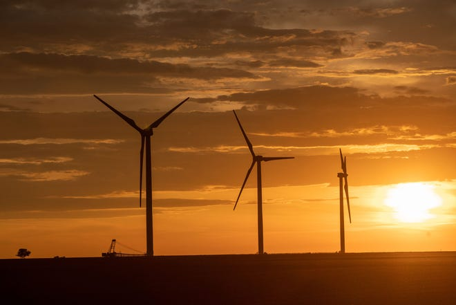 Evergy plans to make investments in wind energy through its Sustainability Transformation Plan. Consumer groups want Evergy investors behind the STP to be considered legal affiliates. Courtesy of Evergy