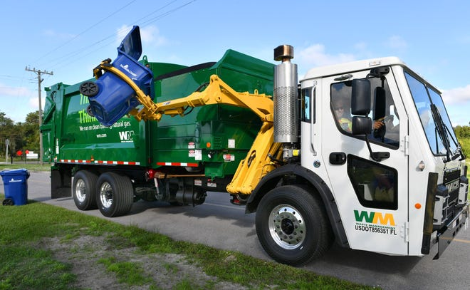 Waste Management collects garbage for residents of unincorporated Sarasota County.