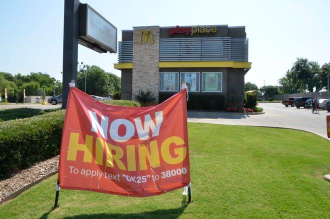 McDonald's, at 1411 N. Harrison, in Shawnee.