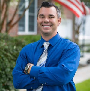 Chris DeHart, owner of All About Energy Solutions. DeHart is one of the StarNews 40 Under 40 honorees for 2021.  [CONTRIBUTED PHOTO]