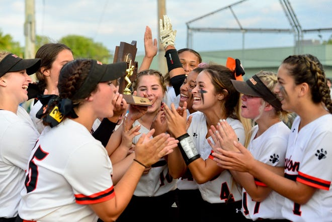 Scenes from Monday and Wednesday's Division I state championship game between Taunton High and Wachusett at Jack Tripp Field