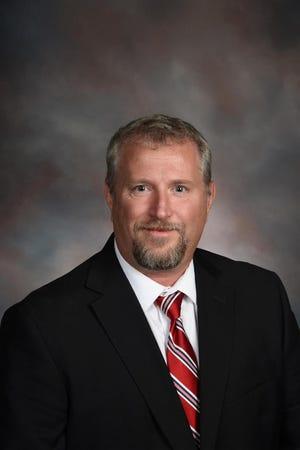Brian Edkins, the principal at Cape Fear High School, died Tuesday.