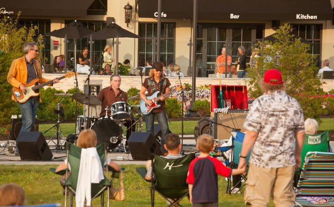 The summer concert series at The Launch at Hingham Shipyard will begin on July 9.