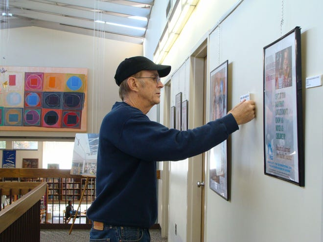 """Stephen Lewis is presenting  a poster exhibition titled """"Black Leaders"""" at the Levi Heywood MemorialLibrary,55 West LyndeSt.,Gardner."""