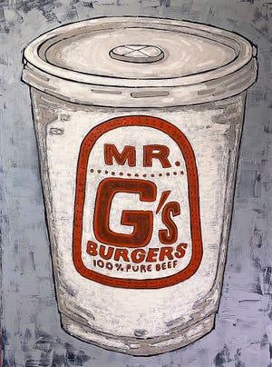 """""""Mr. G,"""" by Cliff Wilke."""