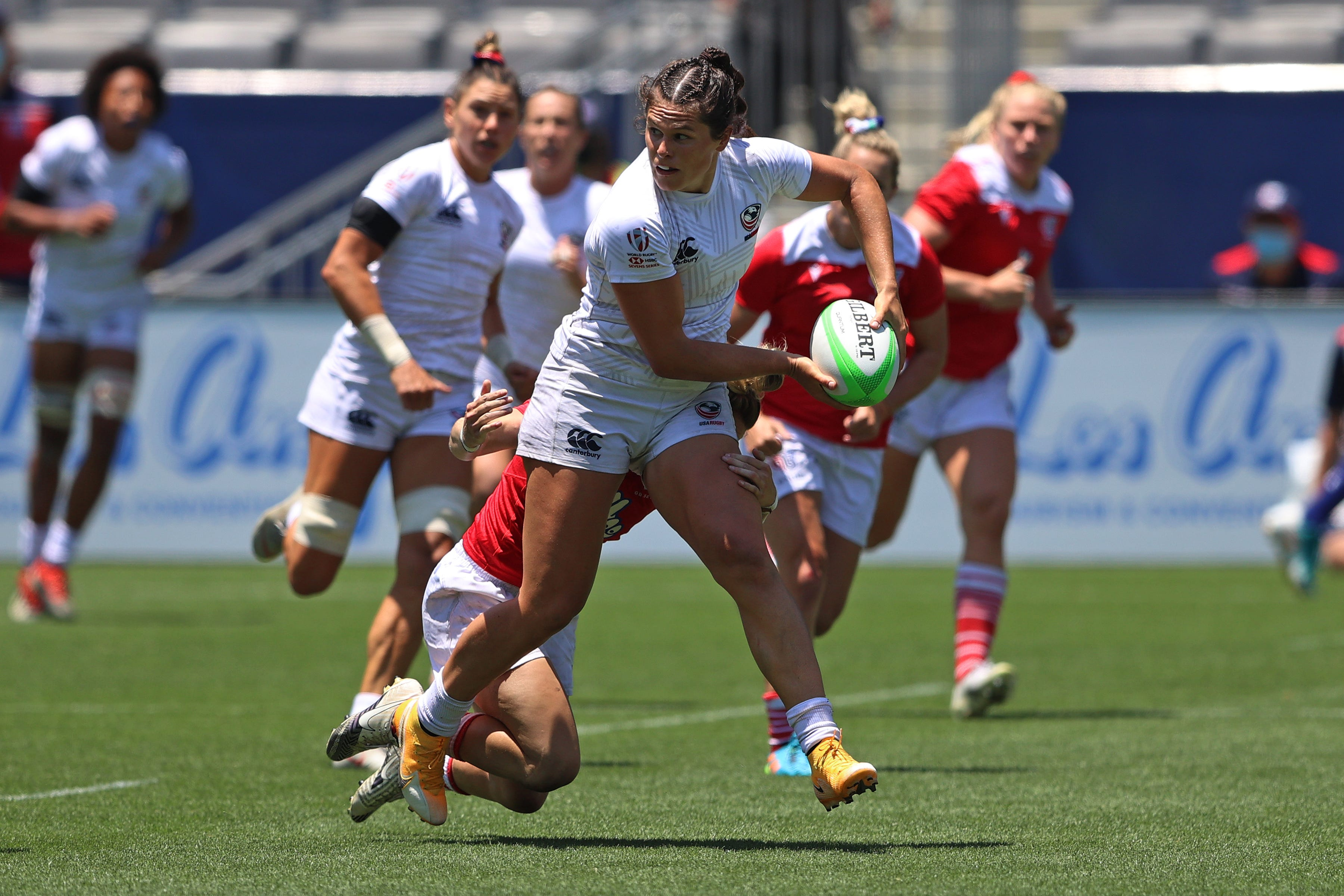 Illona playing for USA