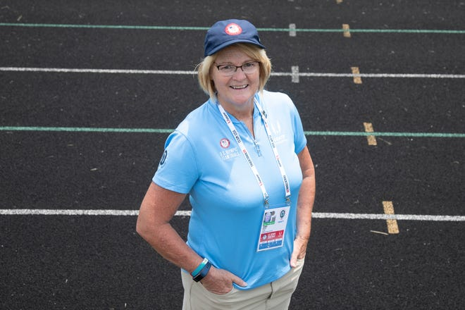 Terri Tutt helped officiate the US Track and Field Olympic Trials in Eugene Oregon. Tutt, who recently retired from being commissioner of the FAC league, wants to officiate the Outdoor Championships and make it to the Los Angeles Olympic games in 2028.