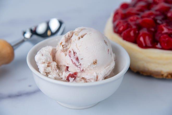 Graeter's Ice Cream has released its fourth summer bonus flavor - Cherry Cheesecake.